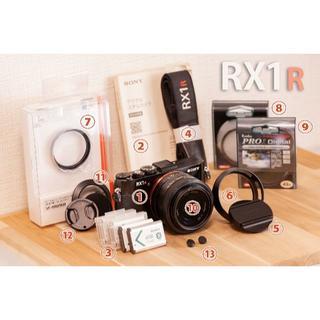 SONY - SONY DSC-RX1R・フルサイズ×ツァイス・付属品まとめて全部・厳重梱包