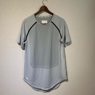 プーマ(PUMA)のPUMA STAMPD プーマ カットソー Tシャツ 白 グレー スポーツ(Tシャツ/カットソー(半袖/袖なし))