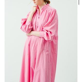 ロンハーマン(Ron Herman)の新品!ロンハーマン カフタンドレス新色 *pink(ロングワンピース/マキシワンピース)