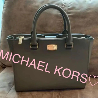 Michael Kors - 〈正規品〉大人かっこいい マイケルコース MICHAEL KORS トートバッグ