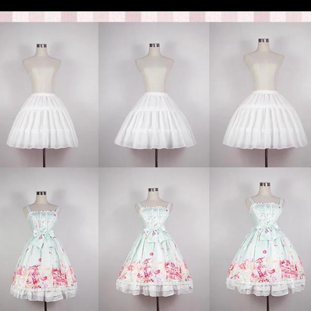 Angelic Pretty(アンジェリックプリティー)の新品 ワイヤーパニエ レディースのスカート(その他)の商品写真