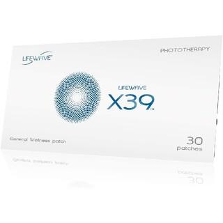 [説明書付・定価19250円] ライフウェーブ LifeWave X39 30枚