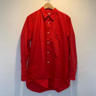 コムデギャルソン(COMME des GARCONS)のCOMME des GARON HOMME 赤いシャツ(シャツ)