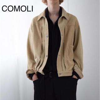 コモリ(COMOLI)のCOMOLI ディアスキン ジャケット(ブルゾン)