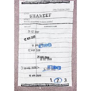 "SHAREEF - 定価9,900円 SHAREEF ""TAROT"" CREW-NECK S/S"