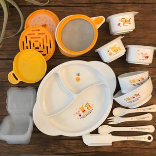 ディズニー(Disney)のくまのプーさん❤️離乳食セット✨ディズニー・アカチャンホンポ(離乳食調理器具)