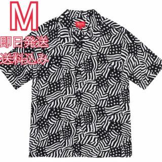 Supreme - M supreme Flags Rayon S/S Shirt