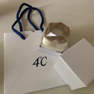 ヨンドシー(4℃)の4℃ネックレス空箱とショップ袋(ショップ袋)