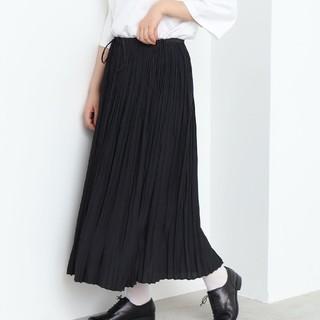 ビュルデサボン(bulle de savon)のユニ yuni ランダムプリーツスカート(ロングスカート)