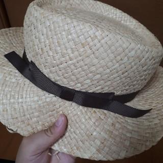 サマンサモスモス(SM2)のSM2ほぼ新品麦わら帽子(sale)(その他)