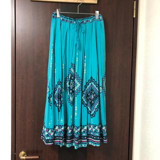 titicaca - チチカカ水色ロングスカート