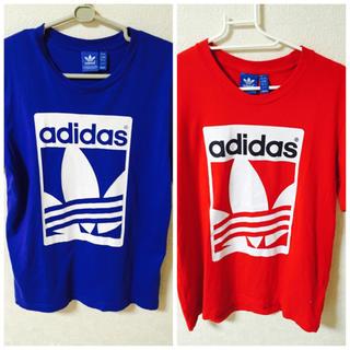アディダス(adidas)の【姫さま専用】adidas(ペア)(Tシャツ/カットソー(半袖/袖なし))