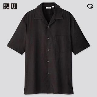 ユニクロ(UNIQLO)のユニクロユー オープンカラーシャツLサイズ(シャツ)
