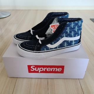 Supreme - Supreme®/Vans®HolePunchDenimSk8-Hi
