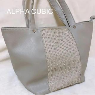 アルファキュービック(ALPHA CUBIC)のALPHA CUBIC 大人気!定番 スタッズ トートバッグ ハンドバッグ(トートバッグ)