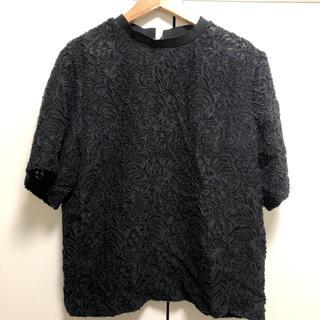 ルシェルブルー(LE CIEL BLEU)のルシェルブルー  シースルートップス(シャツ/ブラウス(半袖/袖なし))