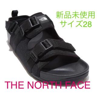 ザノースフェイス(THE NORTH FACE)の新品未使用品!ノースフェイス サンダル サイズ28センチ(サンダル)