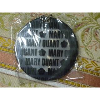 マリークワント(MARY QUANT)の未使用☆MARY QUANT/マリークワントのロゴスライドミラー☆黒  非売品(ミラー)