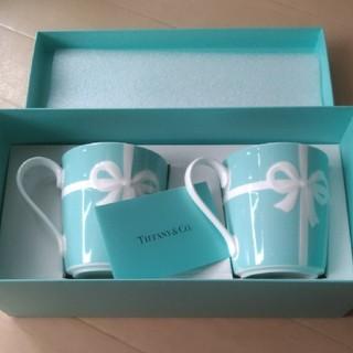 Tiffany & Co. - ティファニー マグカップ ブルーボックスマグ2個セット