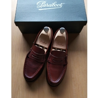 パラブーツ(Paraboot)のパラブーツ オルセー 3.5 マロン(ローファー/革靴)