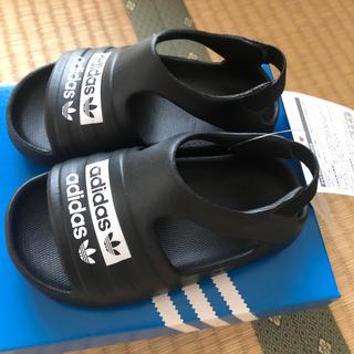 adidas - adidas キッズ サンダル サイズは12から16cm