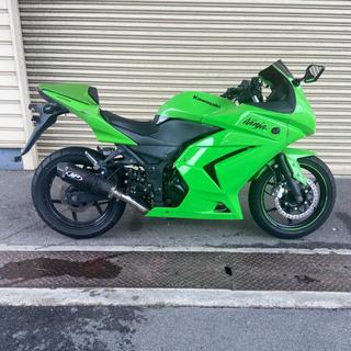カワサキ - Ninja250Rタイヤ前後ほぼ新品!自賠責令和5年の5月まであり!