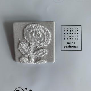 ミナペルホネン(mina perhonen)のミナペルホネン ブローチ(ブローチ/コサージュ)