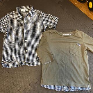 グローバルワーク(GLOBAL WORK)のシャツ(Tシャツ/カットソー)