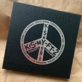 キスマイフットツー(Kis-My-Ft2)のKis-My-WORLD Blu-ray(ミュージック)