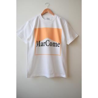 コモリ(COMOLI)の綿天竺ロゴTシャツ T_03(Tシャツ/カットソー(半袖/袖なし))