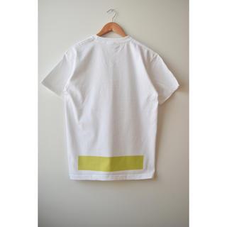 コモリ(COMOLI)の綿天竺ロゴTシャツT-04(Tシャツ/カットソー(半袖/袖なし))