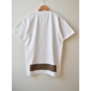 コモリ(COMOLI)の綿天竺ロゴTシャツ T_05(Tシャツ/カットソー(半袖/袖なし))