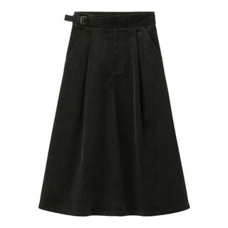 GU - GU ジーユー コーデュロイフレアスカート ロングスカート スカート