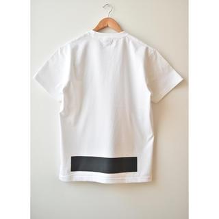コモリ(COMOLI)の綿天竺ロゴTシャツ T-06(Tシャツ/カットソー(半袖/袖なし))