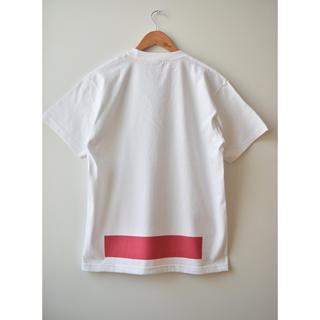 コモリ(COMOLI)の綿天竺ロゴTシャツ T-07(Tシャツ/カットソー(半袖/袖なし))