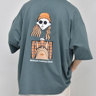 ハレ(HARE)のkutir  レトロガールTシャツ コラボTシャツ(Tシャツ/カットソー(半袖/袖なし))