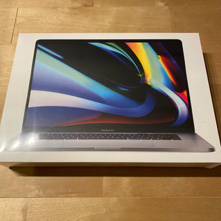 Mac (Apple) - MacBook Pro16インチ i7/16GB/512GB 未使用