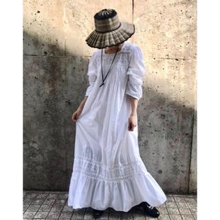 エディットフォールル(EDIT.FOR LULU)のUS vintage front pintuck night dress(ロングワンピース/マキシワンピース)