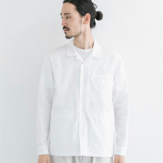 コモリ(COMOLI)のSEEALL 20ss新作パジャマシャツ 48 maison flaneur(シャツ)