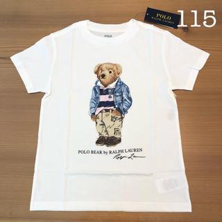 POLO RALPH LAUREN - ラルフローレン ポロベア 半袖Tシャツ ホワイト 5/115