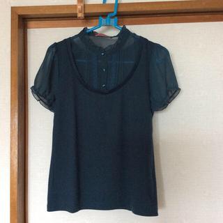 イマージュ(IMAGE)の半袖カットソー サイズM(カットソー(半袖/袖なし))