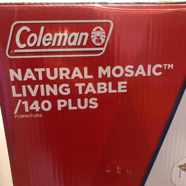 Coleman(コールマン)の【新品未使用品】コールマン テーブル 140プラス 品番2000026750 インテリア/住まい/日用品の机/テーブル(アウトドアテーブル)の商品写真