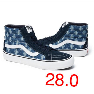 Supreme - 【新品】Supreme Vans Hole Punch Denim Sk8-Hi