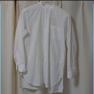 コモリ(COMOLI)のCOMOLI バンドカラーシャツ サイズ0(シャツ)
