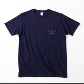 ワンエルディーケーセレクト(1LDK SELECT)のAH.H ロゴポケットTシャツ Lサイズ(Tシャツ/カットソー(半袖/袖なし))