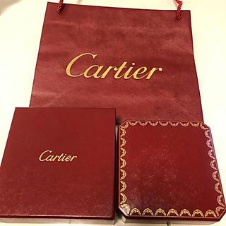Cartier - カルティエ ネックレス専用BOX 証明書 紙袋