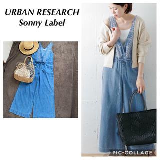 URBAN RESEARCH - sunny label アーバンリサーチサニーレーベル 刺繍 オールインワン