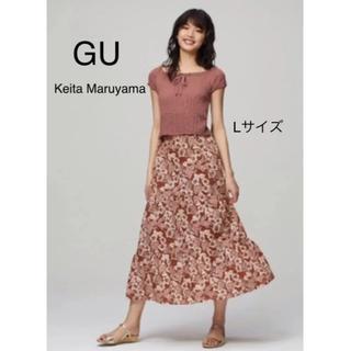 GU - GU  Keita Maruyama アロハプリントスカート Lサイズ 新品