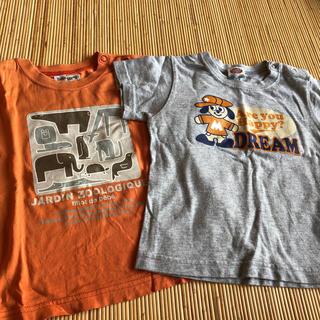 ベベ(BeBe)の半袖Tシャツ 2枚セット サイズ90(Tシャツ/カットソー)