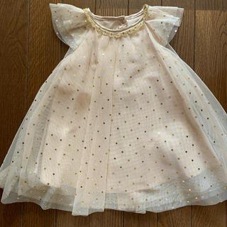 H&M - h&m チュールワンピース ドレス